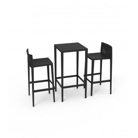 Set Spritz tavolo alto + sgabelli in polipropilene per ...