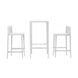 Set Spritz High table + Stools H87