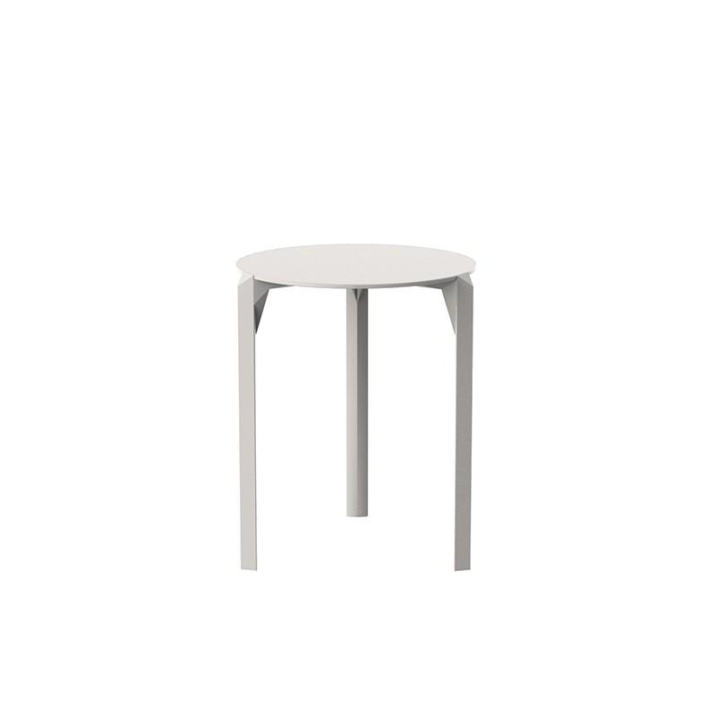 Tavolo Rotondo Vetro Design.Tavolo Quarz Rotondo In Poliammide E Fibra Di Vetro