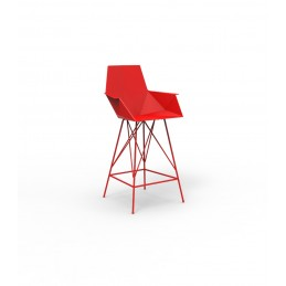 Faz Stool H 102 with armrests