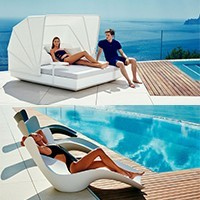 Sunbed and daybed